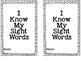 Sight Word Book: 50 Word List