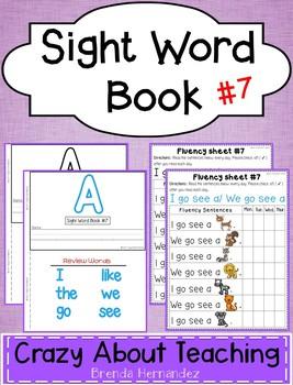 Sight Word Book-A (Benchmark Advance Kindergarten Series)
