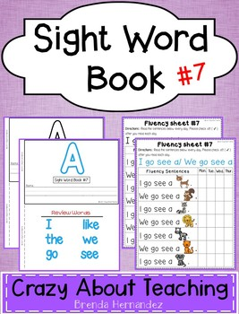 Sight Word Book-A