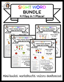 Sight Word Book & Activity Bundle (4 files in 1 place!)