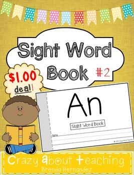 Sight Word Book-An