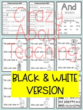 Sight Word Book-And (Kindergarten Benchmark Advance)