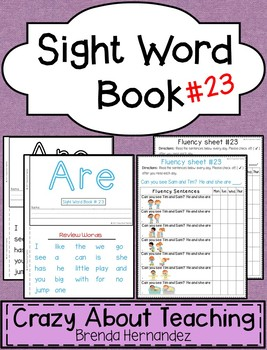 Sight Word Book-Are (Kindergarten Benchmark Advance)