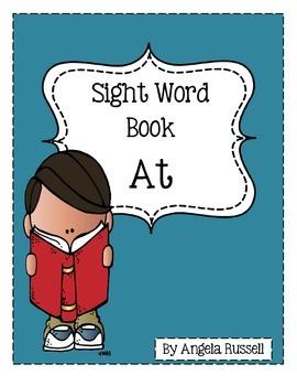 Sight Word Book: At