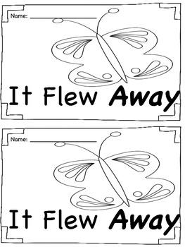 Sight Word Book - Away