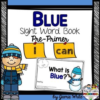 Sight Word Book - BLUE