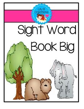 Sight Word Book: Big