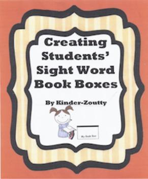 Sight Word Book Box
