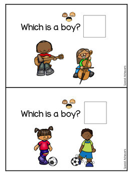 Sight Word Book: Boy