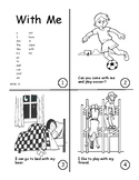 Sight Word Book Bundle 11-15: here, is, come, with, me, fo