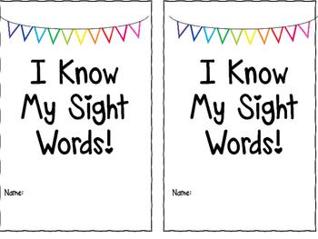 Sight Word Book Bundle