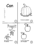 Sight Word Book Bundle 6-10: go.  to. and. can.  said.  am.  not