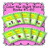 Sight Word Book Bundle, Set 5- She, Likes, Has, With, Play