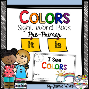 Sight Word Book - COLORS