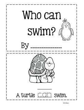 Sight Word Book: Can