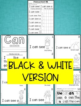 Sight Word Book-Can