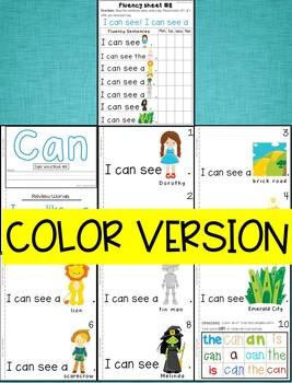 Sight Word Book-Can (Benchmark Advance Kindergarten Series)
