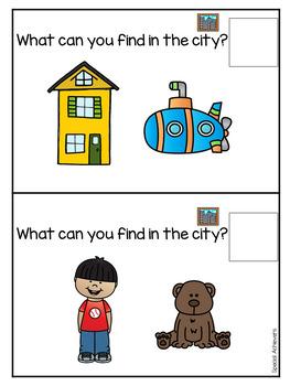 Sight Word Book: City