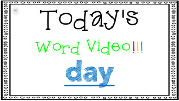 Sight Word Book Emergent Reader {Sight Word DAY}
