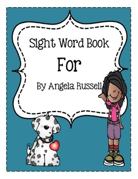 Sight Word Book: For