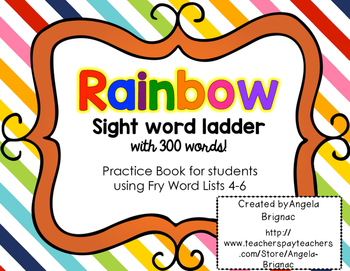 Interactive Sight Word Book: Fry Lists 4-6 {Book for Asses