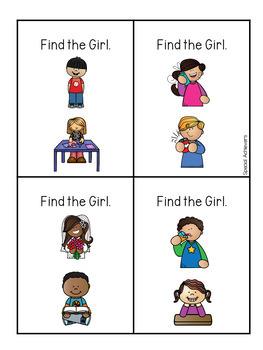 Sight Word Book: Girl