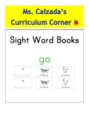 Sight Word Book- Go