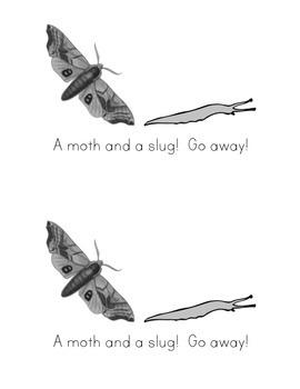 Sight Word Book: Go Away