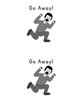 Sight Word Book: Go Away