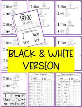 Sight Word Book-Go (Benchmark Advance Kindergarten Series)