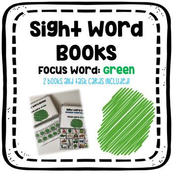 Sight Word Book: Green