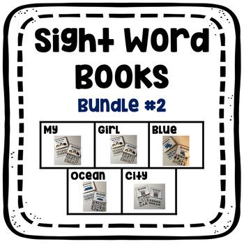 Sight Word Book Growing Bundle #2