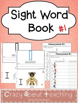 Sight Word Book-I (Benchmark Advance Kindergarten Series)