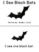 Sight Word High Frequency Words Book: I See Black Bats