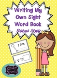 """Sight Word Book """"I See""""  (Rebus Style)"""