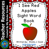 High Frequency Sight Word Book: I See Red Apples