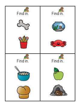 Sight Word Book: In