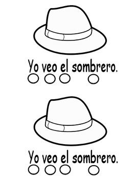 Sight Word Book In Spanish - Veo