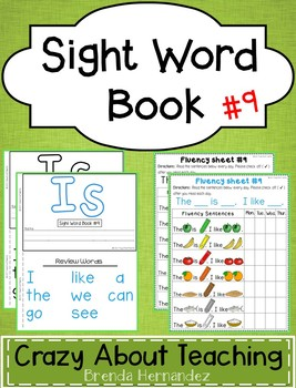 Sight Word Book-Is