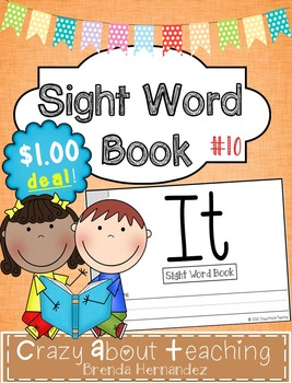Sight Word Book-It