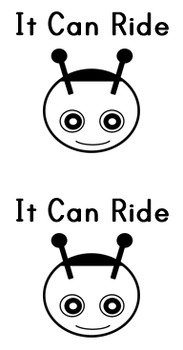 Sight Word Book: It Can Ride