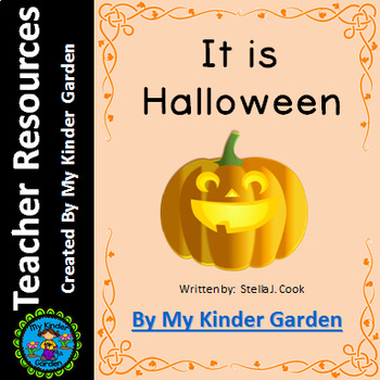 High Frequency Sight Word Book: It is Halloween