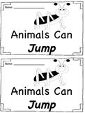 Sight Word Book - Jump