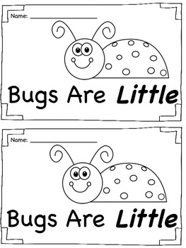Sight Word Book - Little