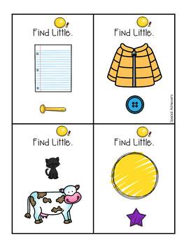 Sight Word Book: Little