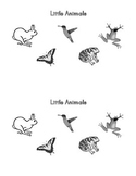 Sight Word Book:  Little Animals