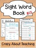 Sight Word Book-Little (Kindergarten Benchmark Advance)