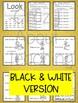 Sight Word Book-Look (Kindergarten Benchmark Advance)