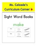 Sight Word Book- Make