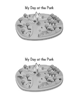 Sight Word Book:  My Day at the Park